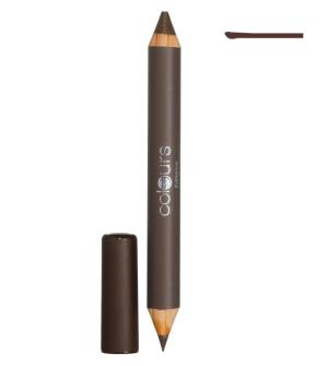 LR Colours Cashmere Brown oboustranná tužka na obočí - 4,9 g + 1,3 g