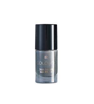 LR COLOURS Lak na nehty True Colour Dark Silvergre - 5,5 ml