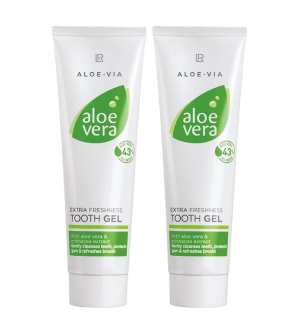 LR Aloe Via - Aloe Vera Sensitive zubní pasta série - 2x 100 ml