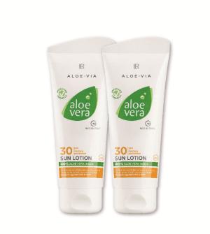 LR Aloe Vera Sun Opalovací krém LSF 30 Série 2 ks - 2x 100 ml