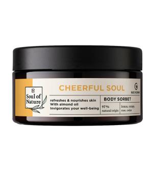 LR Soul of Nature CHEERFUL SOUL Tělový sorbet - 200 ml