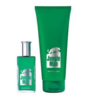 LR Jungle Man, parfémovaná série I (s vlasovým a tělovým šamponem)